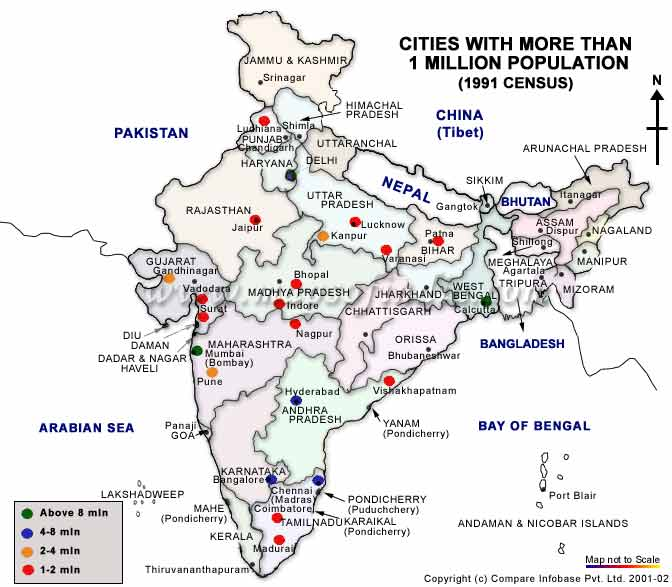 Population of India : Resource, Distribution and Other Details