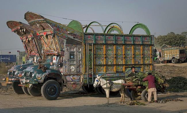 Camions pakistanais