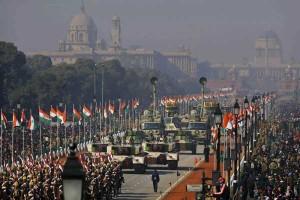 Défilé militaire à New Delhi