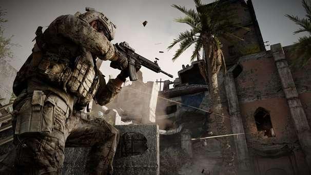 Scène du jeu Medal of Honor