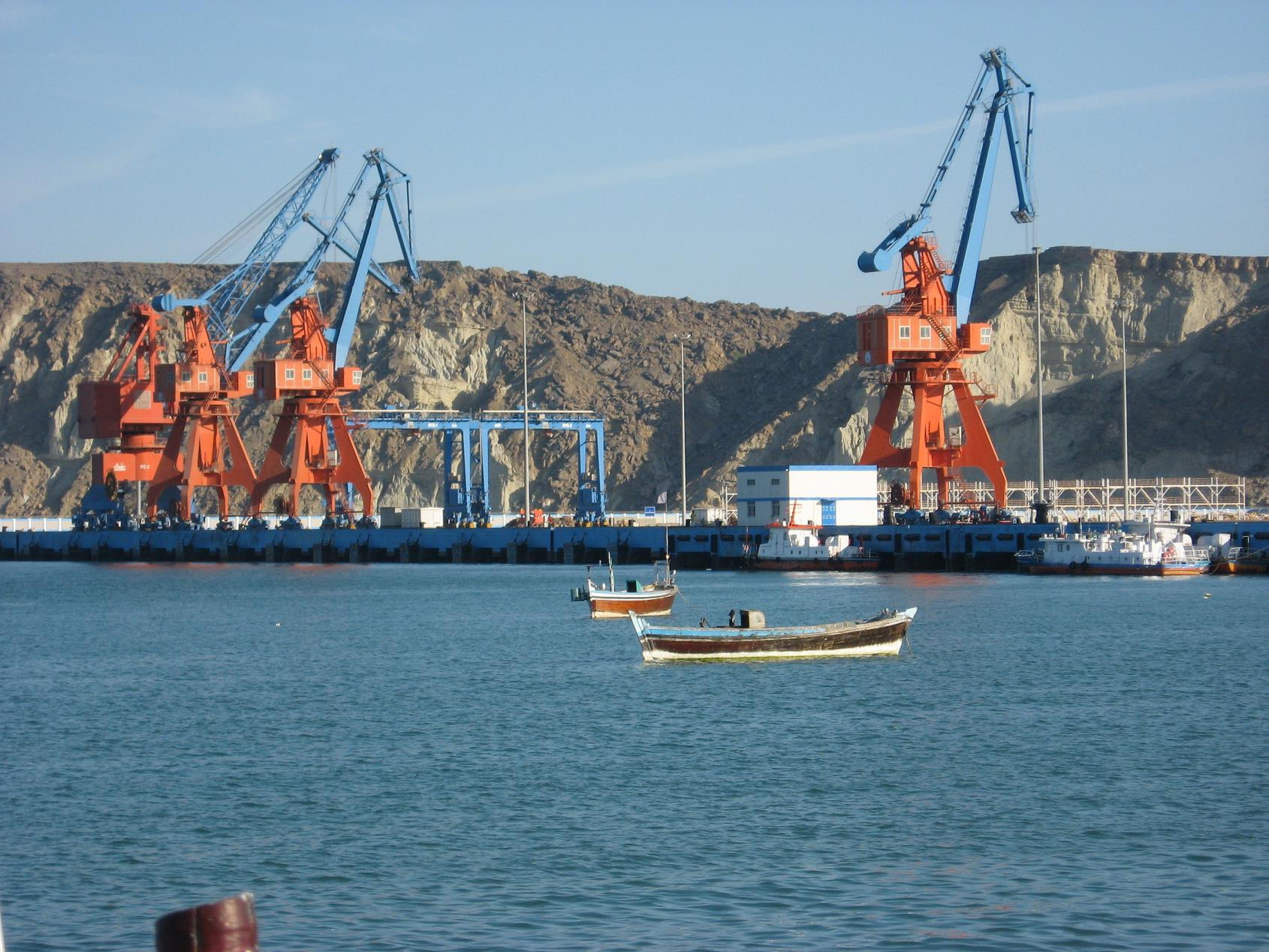 Le port de Gwadar au Baloutchistan