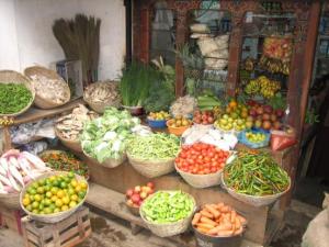 Progressivement, tous les fruits et légumes du Bhoutan seront bio.