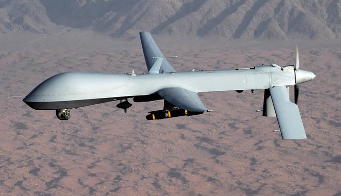 Drone américain modèle Predator.