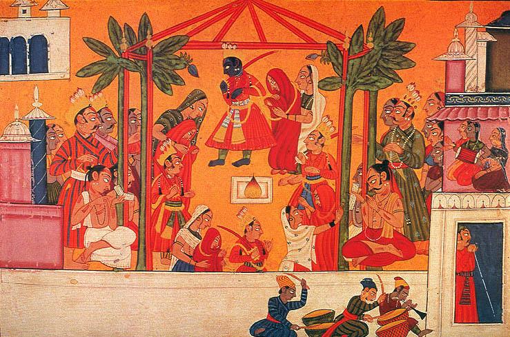 Illustration classique du Ramayana