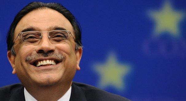 Le président pakistanais Zardari au sommet UE-Pakistan