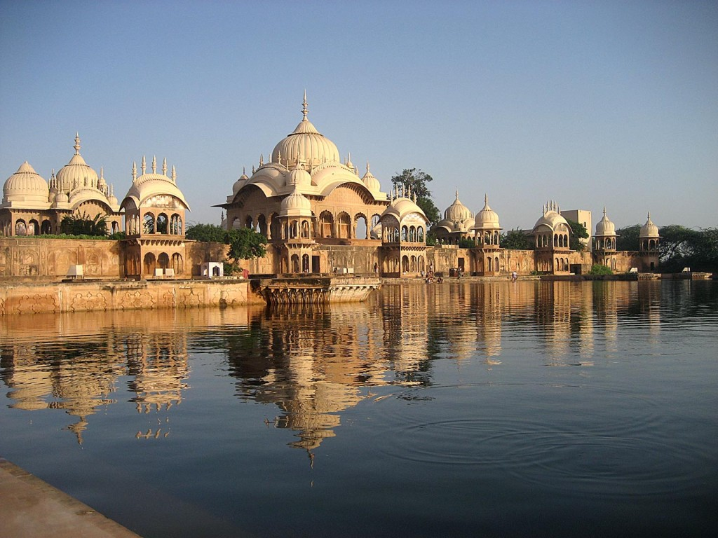 A Vrindavan, la ville de Krishna et de veuves.