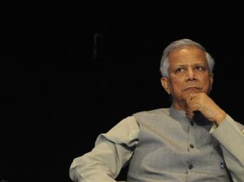 Mohammad Yunus.