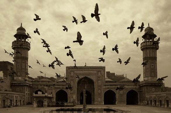 La mosquée Wazir Khan, un des joyaux de l'architecture moghole.