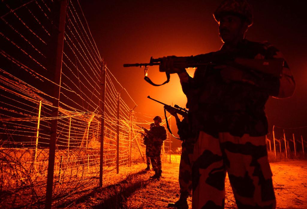 Déployés sur la frontière avec le Pakistan, les BSF sont également postés dans les villes du Cachemire.