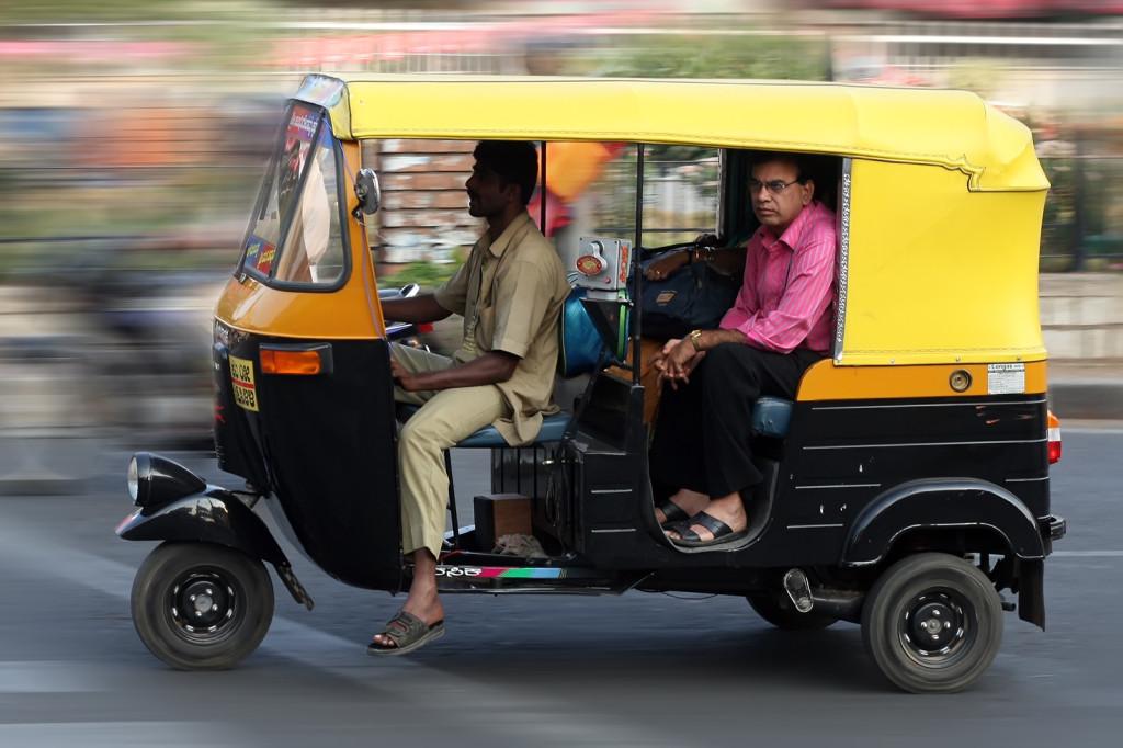 Au Bihar, les hommes n'ont plus le monopole du transport de personnes.