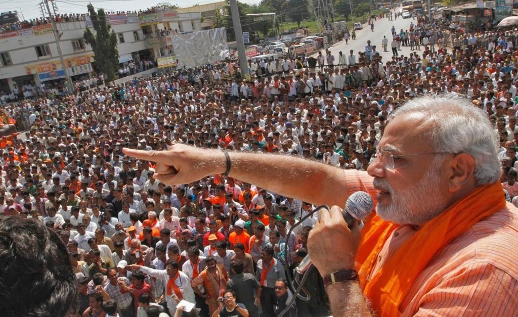 Narendra Modi, futur premier ministre indien? Mais déjà un fardeau pour la diplomatie américaine.
