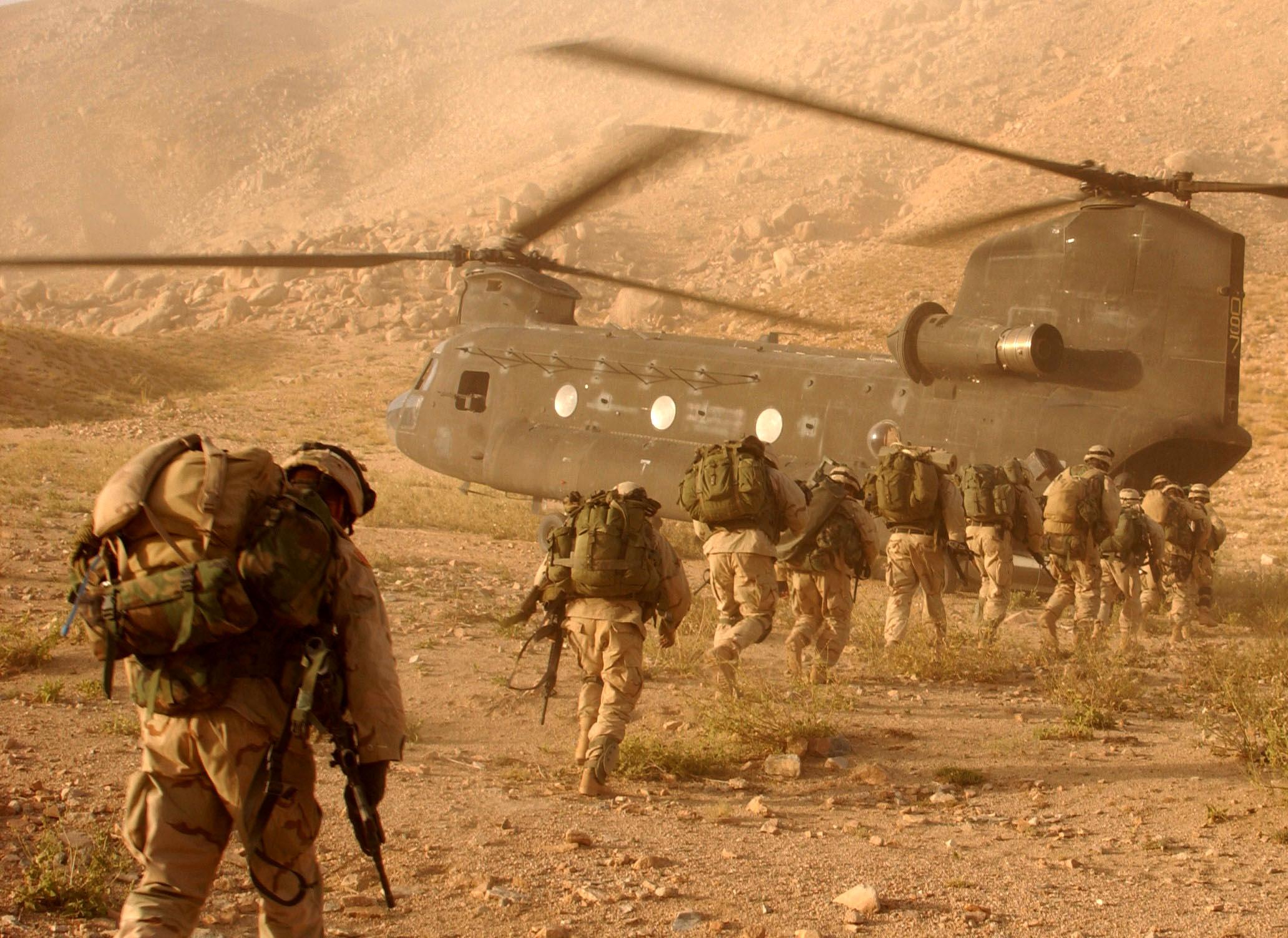 Soldats US en Afghanistan
