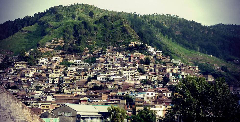 Abbottabad et ses paysages de villégiature.