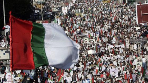 Rassemblement MQM à Karachi